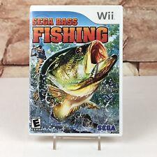 Sega Bass Fishing (Nintendo Wii) No Manual - A10
