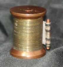 Old METAL spool TAPE MEASURE c1800 SEWING Novelty, ANTIQUE, FIGURAL, Original
