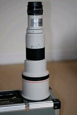Canon 500mm 4.5 L  FD to EF  Manual Focus Lens