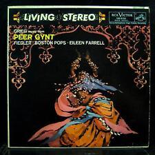 FIEDLER grieg peer gynt suites LP VG LSC-2125 Living Stereo SD USA RCA Orig