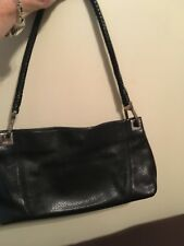Brighton Black Pebbled Leather  Purse Bag Handbag & Coin purse.