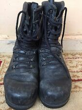 MENS OEL-U BENZINFEST BUNDESWEHR BW BOOTS WORK/ARMY/POLICE/MOTORCYCLE SIZE US 10
