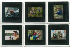 Lot 6 ektas slides originals IP5 Yves Montand Olivier Martinez Beineix