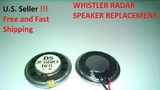 Whistler Radar Speaker Replacement *New*