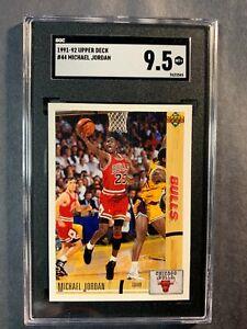 1991-92 Upper Deck #44 Michael Jordan Graded SGC 9.5 Mt+ Bulls