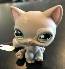 Littlest Pet Shop LPS Grey Cat #467