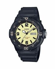 Casio Men's Sports Water Resistant Resin Band Watch MRW-200H