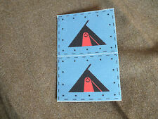 59th Infantry Division reproduction printed badges WWII for Battledress