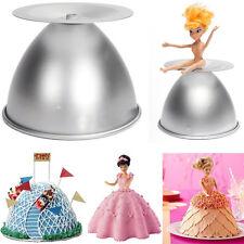 "8"" Barbie Princess Cake Pan Mold Doll Dress Fondant Sugarcraft Bake Decorate DIY"