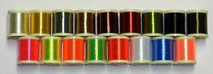 DANVILLE NYLON SINGLE STRAND FLOSS 210 Denier Pick Color 100 YARD SPOOL
