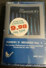 Handel's Messiah Volume 1 and 2 Vintage 1979 Cassette Tapes New Old Stock