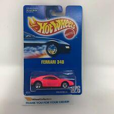 #5  Ferrari 38 #226 * Pink w/ 5sp Rims * Hot Wheels Blue Card * Q8