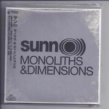 SUNN O))) Monoliths & Dimensions JAPAN mini lp cd papersleeve cd Daymare FOC NEW