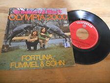 "7"" POP Schobert & Black-Olympia 2000/Fortuna, fummel & Fils (2 chanson) Telefu"