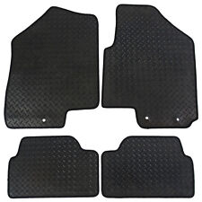 Volvo XC70 Automatic 2008+ Fully Tailored 4 Piece Rubber Car Mat Set 8 Clips