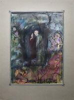 Doreen Middelboe Religious Scene Angel Devil Puttos Modern Type Skandi