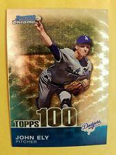 John Ely 2010 Bowman Chrome Topps 100 Superfractor #d1/1 ,#TPC61 , Dodgers