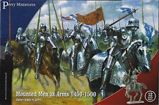 Perry Miniatures Mounted Men-at-Arms (1450-1500) 28mm New!