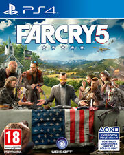 Far Cry 5 PS4 Playstation 4 IT IMPORT UBISOFT