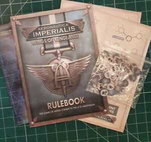 Aeronautica Imperialis RuleBook, tokens, gamemap, ref sheets,wings of vengeance