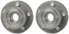 Hub Bearing Assembly for 1998 Lincoln Town Car Fit ALL TYPES Wheel-Front Pair