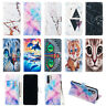 For Huawei P Smart 2019/P30 Pro Flip Painted Leather Case Magnetic Wallet Cover