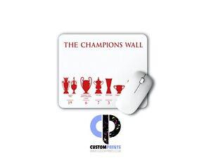 LFC Champions Wall Mat - White