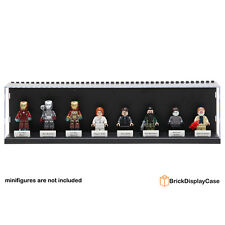 Display Case Box for Lego Avengers Minifigures Tony Stark War Machine iron man