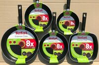 Tefal Everyday Cook 8x Stronger Choose Frying Pan or Grill Pan 32 26 24 20 cms