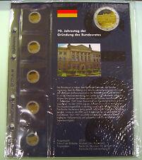 Nachtrag 2019 für Leuchtturm OPTIMA 2-EURO-Vordruckalbum Deutschland (359 220)