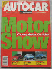 AUTOCAR 21/10/1992 featuring Aston Martin Vantage, Rover 220 Turbo coupe, Ford