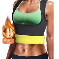 Women Neoprene Push Up Vest Sauna Sweat Waist Trainer Body Shaper Cincher Corset