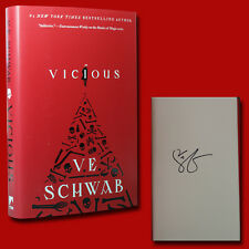 Vicious by V.E. Schwab (May 2018,HC,2nd/1st) SIGNED BRAND NEW