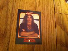 NUCLEAR ASSAULT Vintage Trading Card 1991 Heavy Metal Thrash Speed Megametal