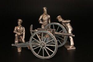 Fleurbaix Toy Soldiers - Royal Navy Gun Crew (Victorian Artillery Crews)