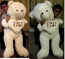 110cm Giant large huge Big teddy bear plush toy birthday Valentines girl friend