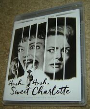 HUSH...HUSH SWEET CHARLOTTE TWILIGHT TIME LIMITED EDITION BLU-RAY, NEW & SEALED
