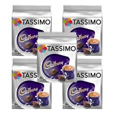 5 Packs Tassimo Cadbury Hot Chocolate T Discs Pods - 40 Large T Discs 40 Drinks