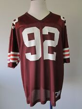 Vintage Champion Courtney Brown #92 Cleveland Browns Men's Football Jersey Xl
