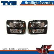 TYC Headlight Lamps Assembly Left&Right 2PCS For Ford F-250 Super Duty 2005-2007