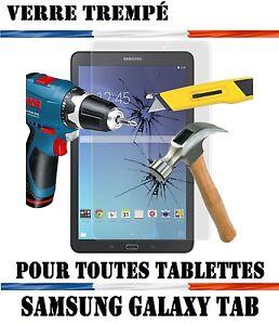 Protecteur Écran Protection Verre Trempé  Vitre Samsung Galaxy Tablette