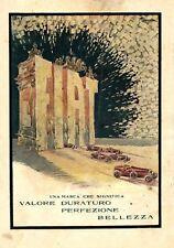 G. Romano -FIAT 314T-auto-lingotto-fabbrica-pubblicità vintage-Caltagirone-1927