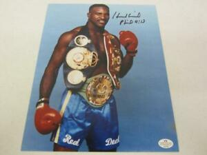 Evander Holyfield Boxer Signed Autographed 8x10 Photo