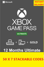 GAME PASS Ultimate 1 Year 12 Months 50x7 Days (350 Days)-LIVE GOLD+GAMEPASS
