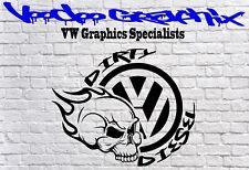 Dirty Diesel Sticker Car Window Bumper VW Vinyl Sponsor Decals T6 T5 T4