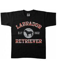 Kinder T-Shirt Hunde Labrador Retriever Hund Dog Welpe Rasse Haustier 17416