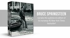 BRUCE SPRINGSTEEN BORN TO RUN CD AUDIOBOOK NEW SEALED 16 DISCS  FREE UK FAST PST