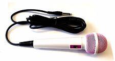 More details for goodmans karaoke xb4cdg xb6cdg xb9cdg pink mic wired microphone
