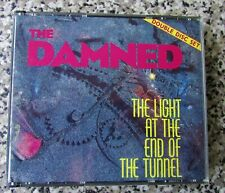 THE DAMNED The Light At The End Of The Tunnel ORIGINAL 1987 UK 2 x CD FAT BOX