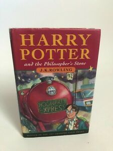 Harry Potter and The Philosophers Stone 1st edition UK 12th printing JK Rowling